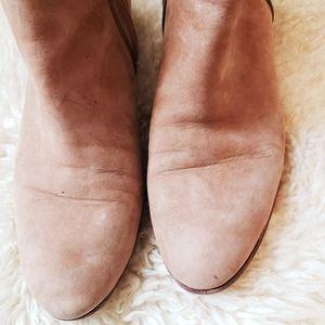 Sam Edelman Shoes - Sam Edelman Tan Suede Leather Petty Ankle Boots 10